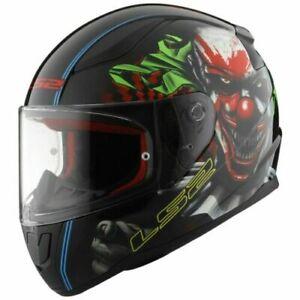 LS2 FF353 Rapid Happy Dreams Joker Motorcycle Helmet Glow Motorbike Crash Lid