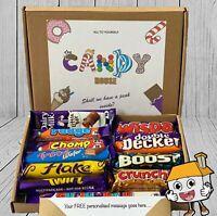 CADBURY Chocolate Hamper Gift Box Present Birthday Personalised Day Sweet Twirl