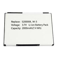 2000mAh 5200008 5200056 W-3 Battery Sierra Wireless Aircard 760 760s 762s 785s