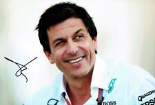 Toto WOLFF Signed Autograph Photo AFTAL COA Mercedes Petronas Director Formula 1