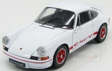 Porsche 911 Carrera Rs 2.7 Coupe 1973 White Red Welly 1:18 WE18044WH
