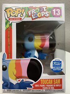 Toucan Sam Funko Pop - Funko Shop Limited Edition Kellogg's Froot Loops Ad Icons