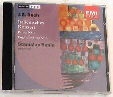 BACH J. S. - ITALIENISCHES KONZERT - BUNIN - CD Nuovo Unplayed