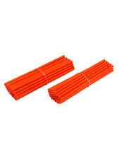Speichen Cover / Spoke Kits für 2 Felgen - 76er Klipp-Satz - orange