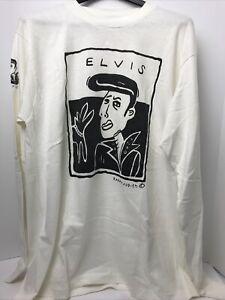 VTG Barrett Reed Menswear Rana + Judith Elivs Cream Long Sleeve Shirt NWT USA XL