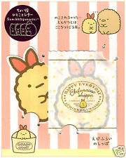 San-x Sumikko Gurashi Tonkatsu Pork Mini Kawaii Note Set