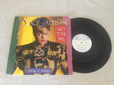 STACY LATTISAW NAIL IT TO THE WALL 1986 MOTOWN PROMO US PRESS 12""