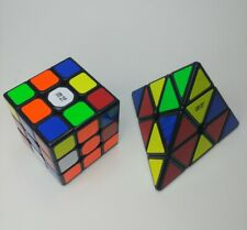 Rubiks cube pyraminx and cube 3x3 lot of 2 🇺🇸