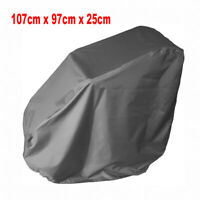 Grey Waterproof Wheelchair Storage Cover for Electric Manual Folding Wheelchairs