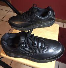 Brooks Addiction Walker 2 Men's Leather Walking Shoes US Size 14 D Black