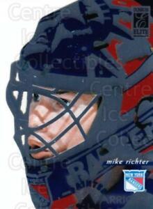 1996-97 Donruss Elite Painted Warriors #2 Mike Richter