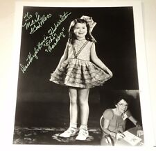 DOROTHY DE BORBA / OUR GANG /  8 X 10  AUTOGRAPHED  PHOTO