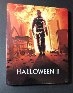 Halloween II [ Limited Edition STEELBOOK ] (Blu-ray + DVD) NEW