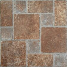Achim  Nexus Brick Pavers 12X12 Self Adhesive Vinyl Floor Tile 20 Tiles/20 Sq Ft