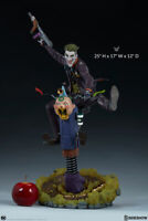 DC Comics the classic Batman enemy THE JOKER Premium Format Statue Sideshow