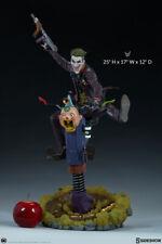 DC Comics the classic Batman enemy THE JOKER Premium Format Statue Sideshow