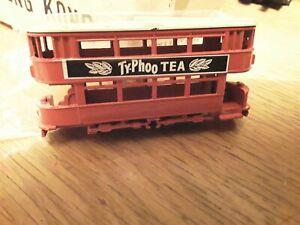 DIECAST TYPHOO TEA TRAM NEW IN PACK N GAUGE