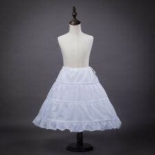 Newest Children Petticoat 3-Hoop Skirt Little Girls Party Mariage Underskirt