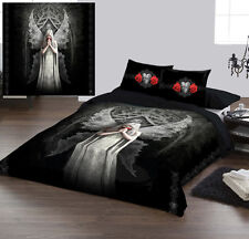 ONLY LOVE REMAINS - Duvet Cover Set UK KING / US QUEENSIZE BED by Anne Stokes