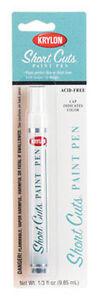 White Short Cuts Paint Pen Marker by Krylon no. SCP-913 NEW