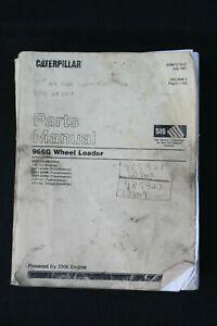 Genuine Caterpillar Parts Manual 966G Wheel Loader Volume I July 2001