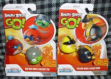 PLAYSKOOL HEROES - ANGRY BIRDS GO - SET OF 2 PACKS OF ROLL 'EM BIRDS