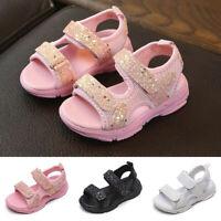 Summer Children Kids Baby Girls Boy Esporte Tênis Sapatos Sport Sandals Shoes AU