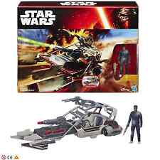 Disney Hasbro Star Wars Desert Landspeeder and Finn(Jakku) Toy Figure 4+ Years