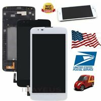 OEM For LG K7 K330 LS675 MS330 LCD Touch Screen Digitizer Replacement +Frame US