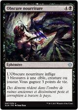 MTG Magic XLN - (x4) Dark Nourishment/Obscure nourriture, French/VF