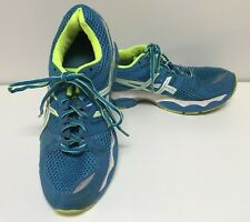 Asics Gel-Nimbus 14 Blue & White Women's Athletic Shoes Size 8