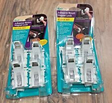 Set of 2 Nip KidCo Adhesive Mount Magnet Lock - S3364 Msrp $28.00 each