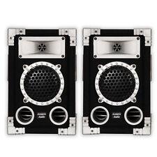 Acoustic Audio GX-350 PA Karaoke DJ Speakers 2-Way Pair Home Audio Monitors