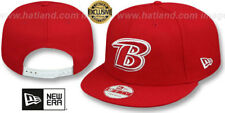 Ravens 'B TEAM-BASIC SNAPBACK' Red-White Hats by New Era