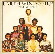 "EARTH WIND AND FIRE let me talk/instrumental CBS 8982 uk cbs 1980 7"" PS EX/EX"