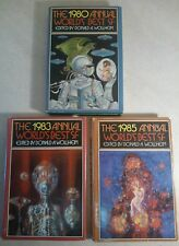 1980s Annual World's Best SF Lot - Book Club Editions - Incl. George R.R. Martin