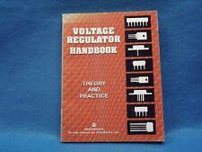 Voltage Regulator Handbook, Motorola, very good condition. Sale Sale Sale