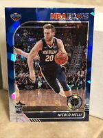 Nicolo Melli RC 2019-20 NBA Hoops Premium Stock BLUE CRACKED ICE PRIZM ROOKIE SP
