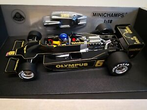 Minichamps 1:18 1978 F1 Lotus Ford 79 Ronnie Peterson #100780006