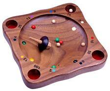 Tiroler Roulette Kreiselspiel Gesellschaftsspiel Geschicklichkeitsspiel aus Holz