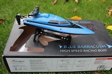 AMEWI RC Boot Blue Barracuda Mini Boot 2.4 GHz RTR