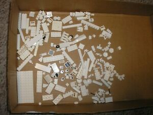 RARE Vintage Lot of White LEGOs Some Specialty Free SHIPPING