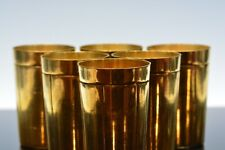 ANTIQUE RUSSIAN SILVER GILT BEAKER CUPS SET OF 6