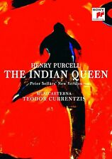 TEODOR CURRENTZIS - THE INDIAN QUEEN  DVD NEU HENRY PURCELL