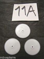 Ingranaggi ingranaggio pezzi di ricambio modellismo meccanismi in plastica 11A