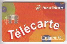 VARIETE TELECARTE FRANCE .. 50U F656A ESSAI SO7 3L 05/96 JAG A 6A390040+T2G C10€