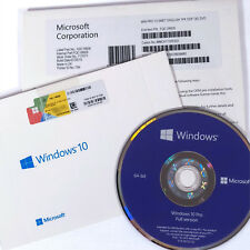 Microsoft Windows 10 Professional 64-bit NEW SEALED with COA Product Key & DVD