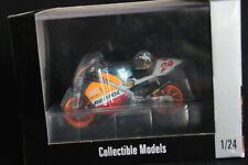 2Wheels Honda NSR/V500 1997 1:24 #24 Takuma Aoki (JPN) (with helmet)