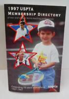 1997 USPTA MEMBERSHIP DIRECTORY of Men & Women Tennis Professionals Ppk BOOK