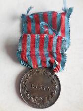 Medaglia per la guerra di Libia in argento conio Zecca Z